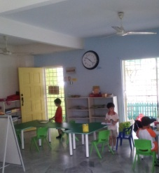 Blue Group Children Working Without Complaints for 30 Minutes